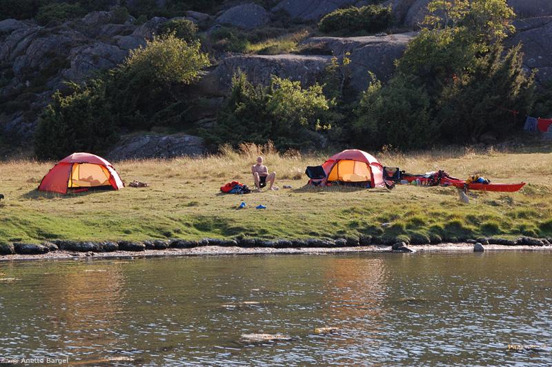 Lägerplats Keö Bohuslän