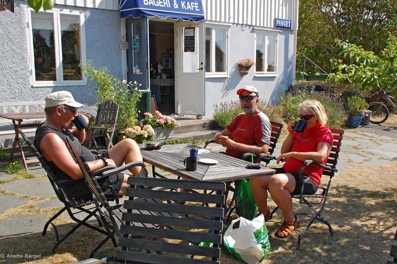 sommarfika på Panget Resö paddlingssemester bohuslän