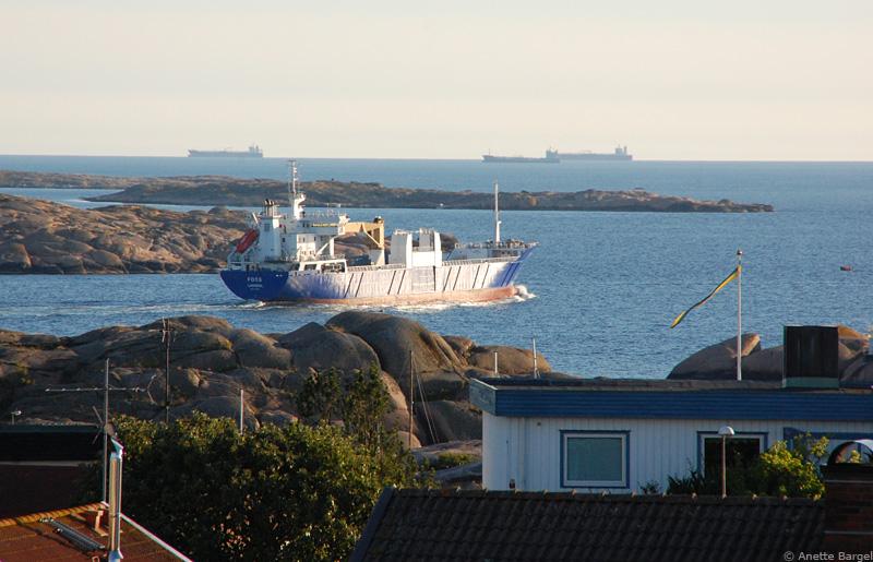 Transport fartyg i Lysekils skärgård
