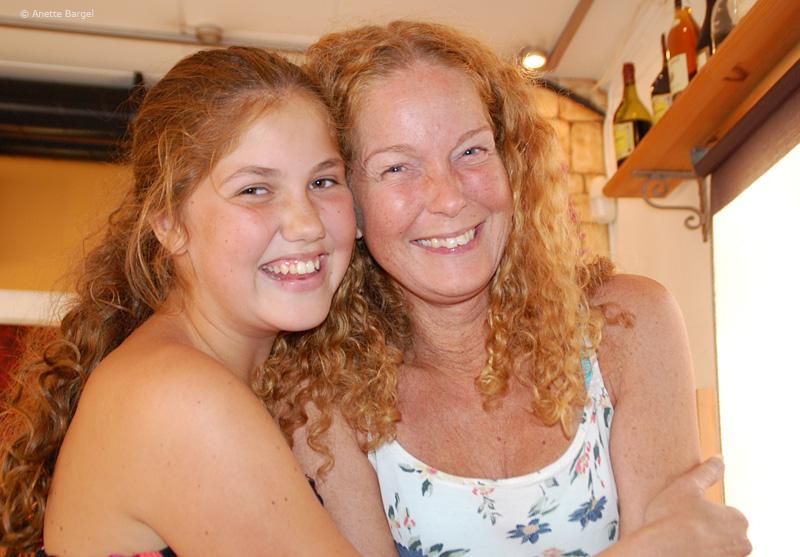 Anette Niklasson och dotter Sarah