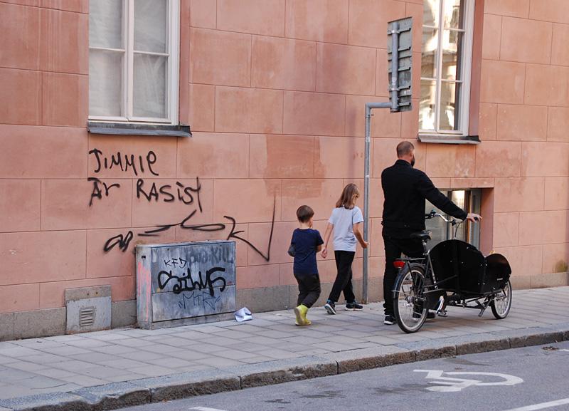 Gatuklotter Jimmie Åkesson
