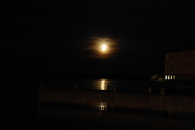 Nymåne lysekil september