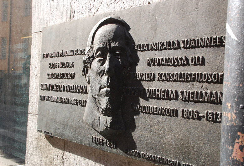 Gatukonst Johan Vilhelm Snellman