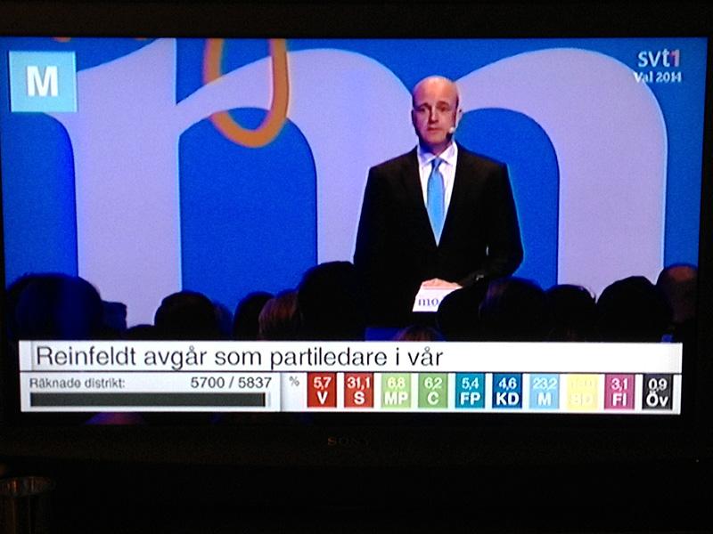 Besked Fredrik Reinfeldt