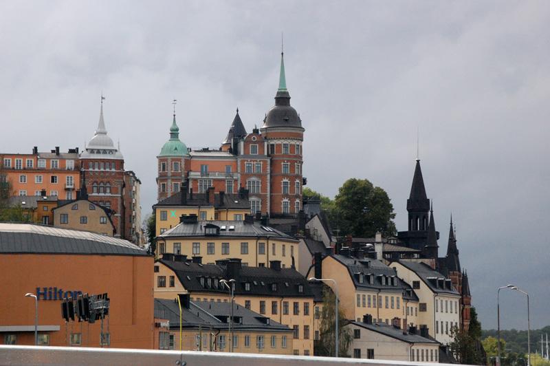 Stockholm vid katarinahissen