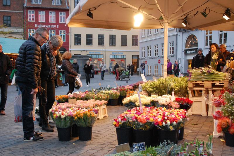 fundersam rosprakt i köpenhamn