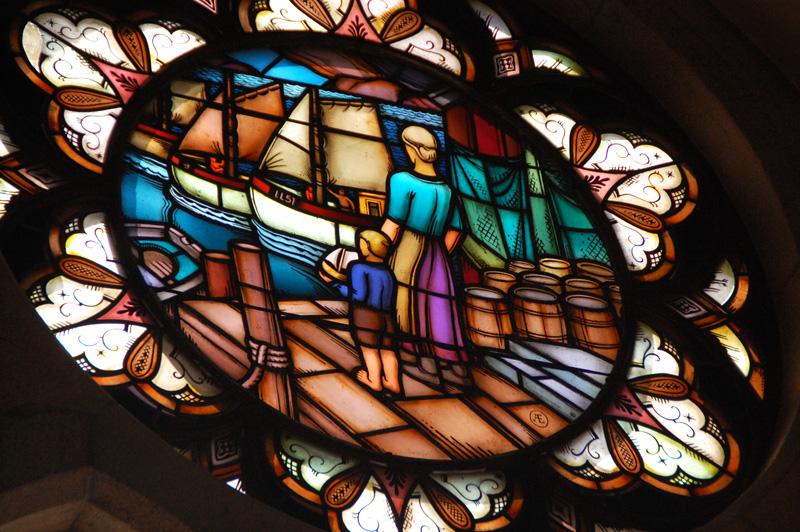 Kyrkfönster Lysekil