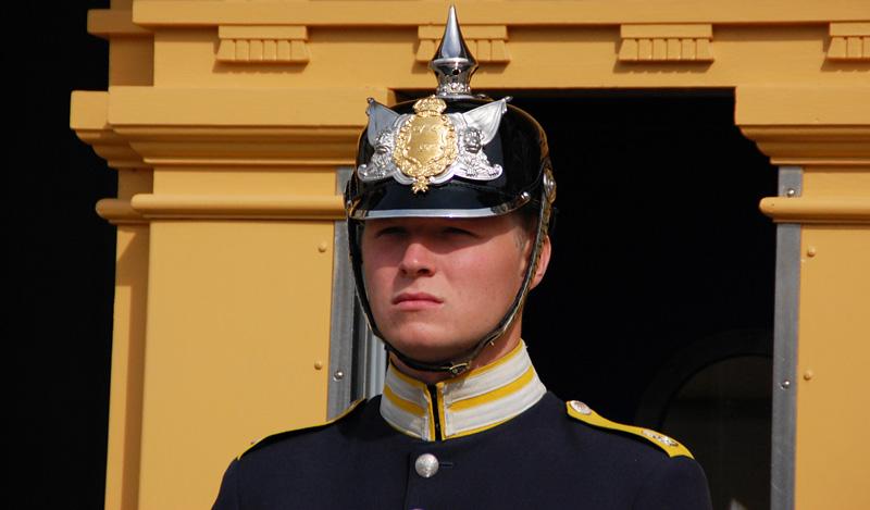 Slottsvakten Stockholm.
