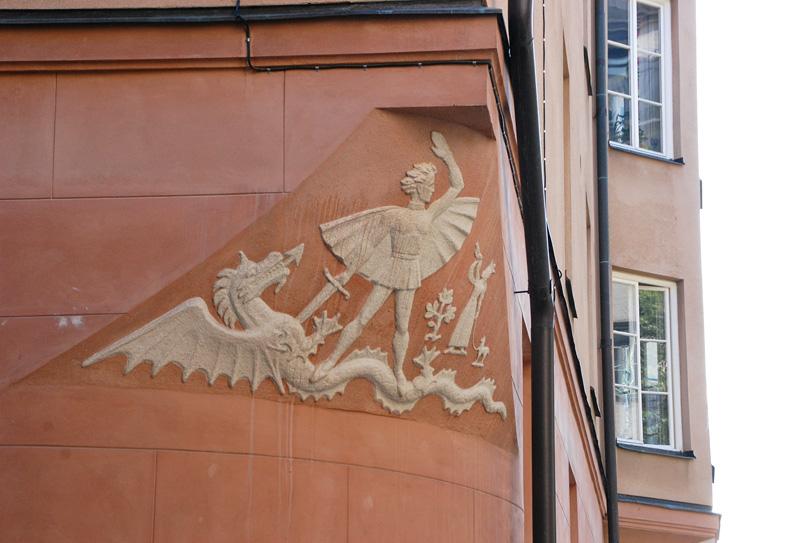St Göran och draken