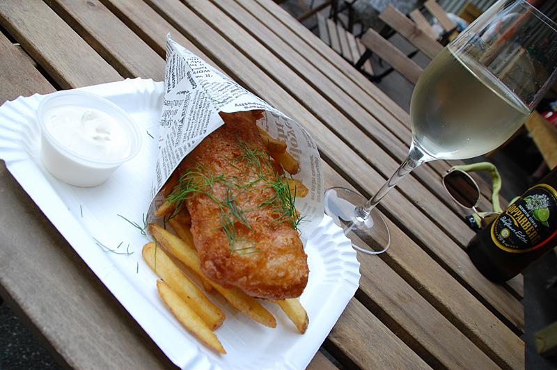 fish and chips backyard lysekil