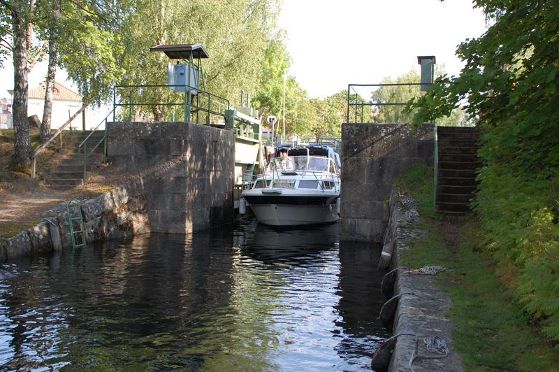 sluss Dalslands kanal