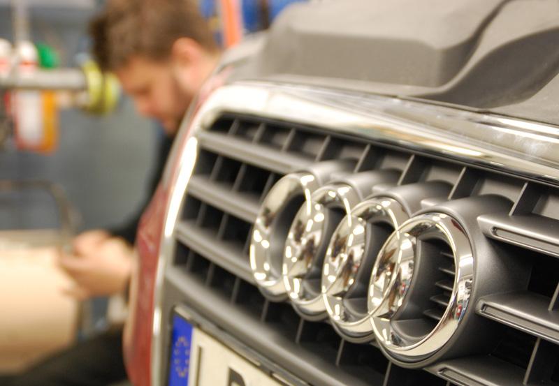 Audi kylarmärke verkstad