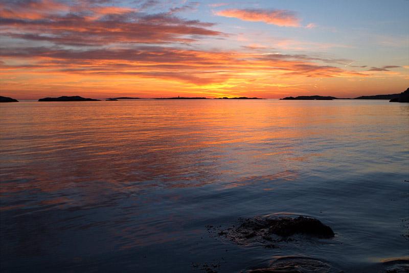 Solnedgång Lysekil