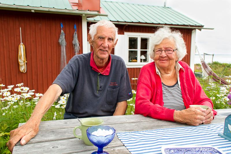 Äkta par på Pite Rönnskär