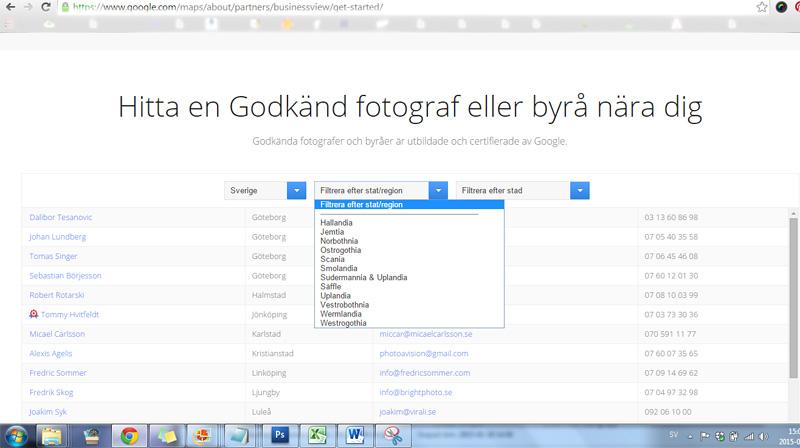 Google visar latin