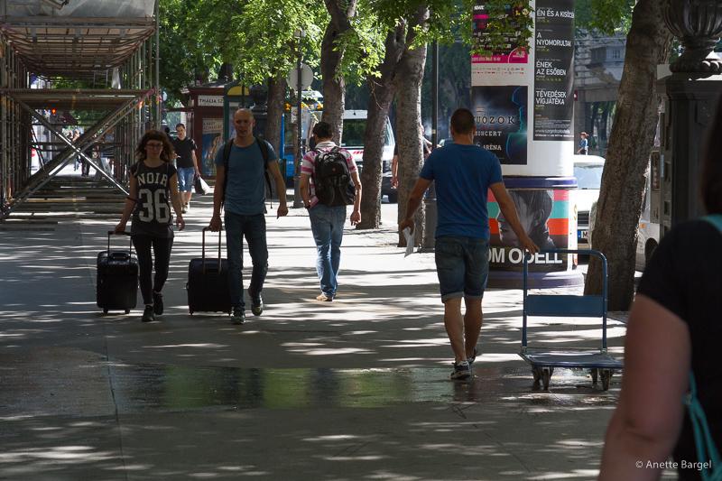budapest resenärer