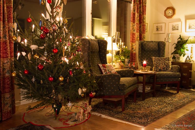 jul i vardagsrum